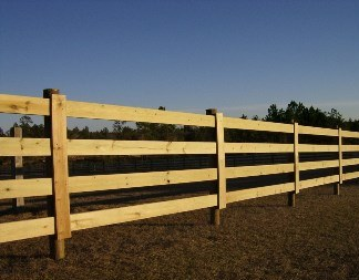 Rough Fence Boards, Split Rail & Round Posts - Culpeper Wood Preservers