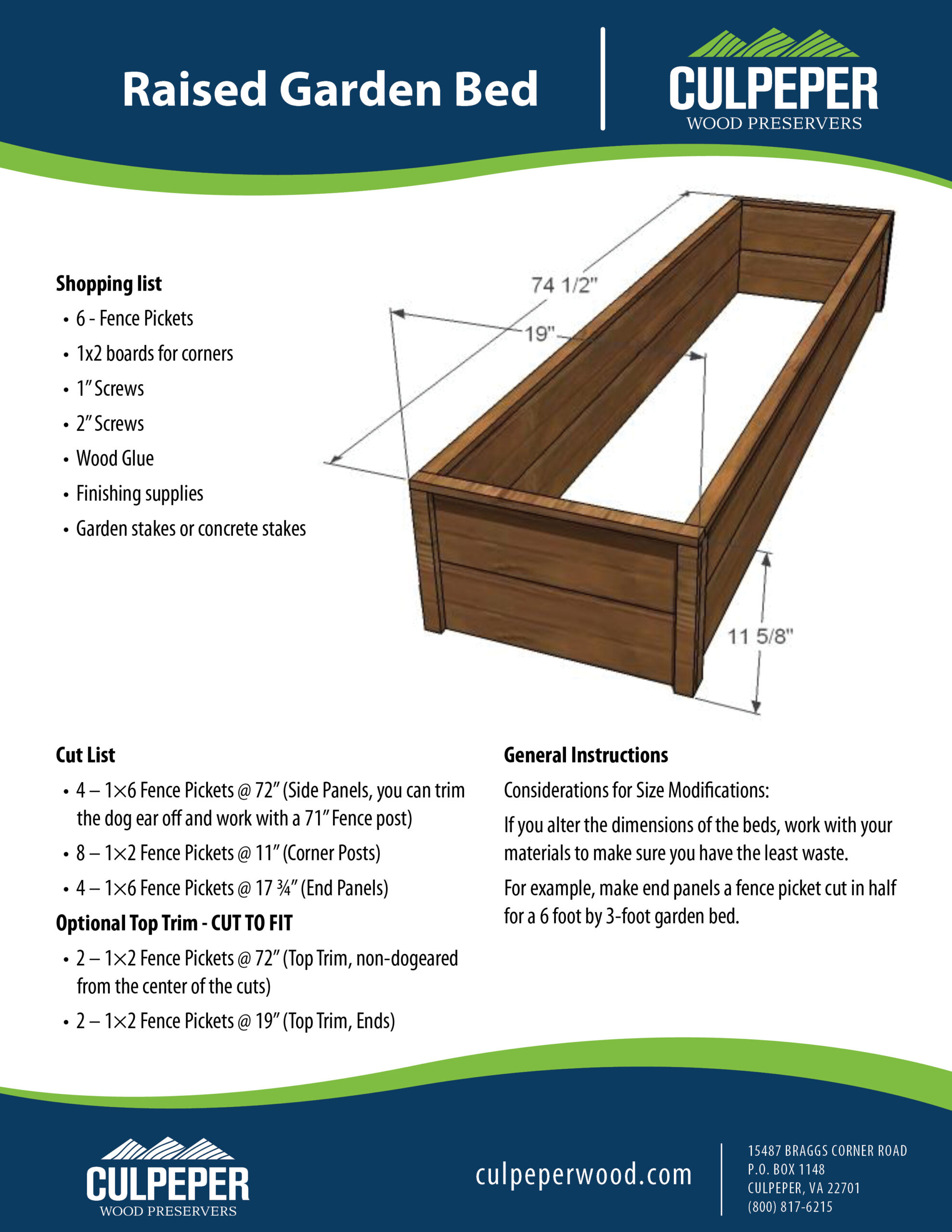 Raised Garden Bed KK050520