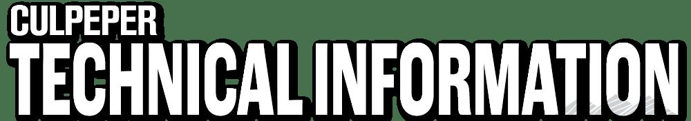 TECHNICAL-INFORMATION-Culpeper--Logo-176-Dropshadow