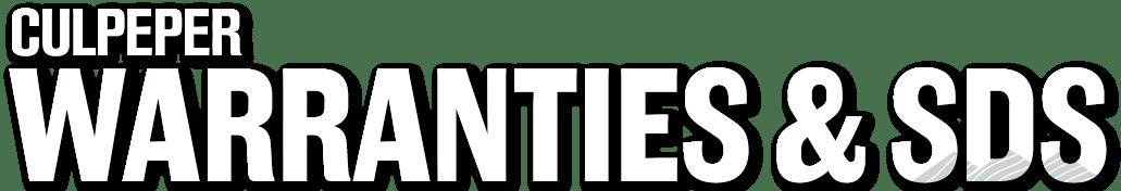 WARRANTIES-&-SDS-Culpeper--Logo-176-Dropshadow