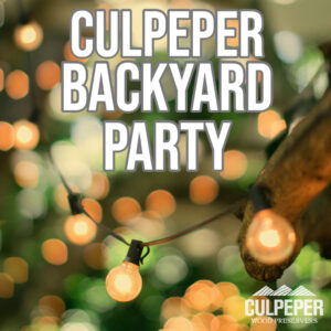 Culpeper Backyard Party Spotify Playlist